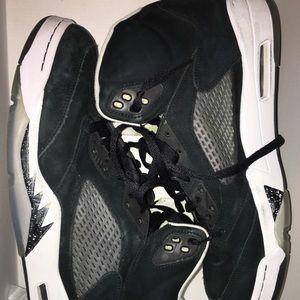 Used Jordan 5 Oreo's